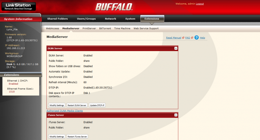 Buffalo_MediaServer