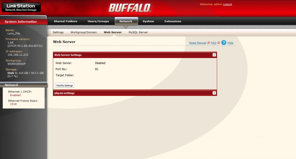 Buffalo_WebServer