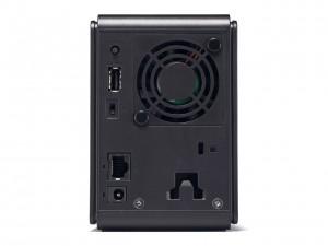 Mặt sau gồm 1 USB - 1 LAN Gb